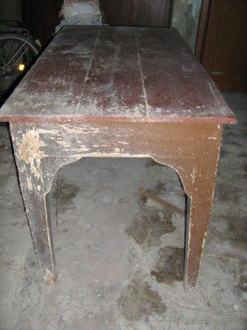 antico tavolo primi '900 - Foto 2