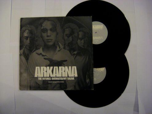 Doppio 33 giri del 1998-Arkarna-The future overrated my saliva