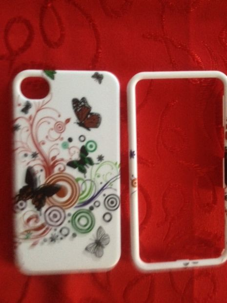 Cover Farfalle per iPhone 4/4S