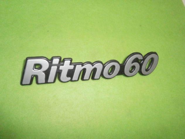 Scritta posteriore Fiat ritmo 60   logo targhetta  NUOVA - Foto 2