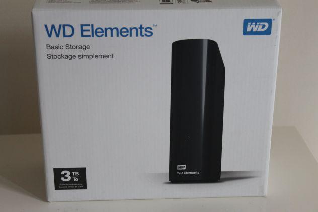 Western Digital Hard Disk ESTERNO da 3TB