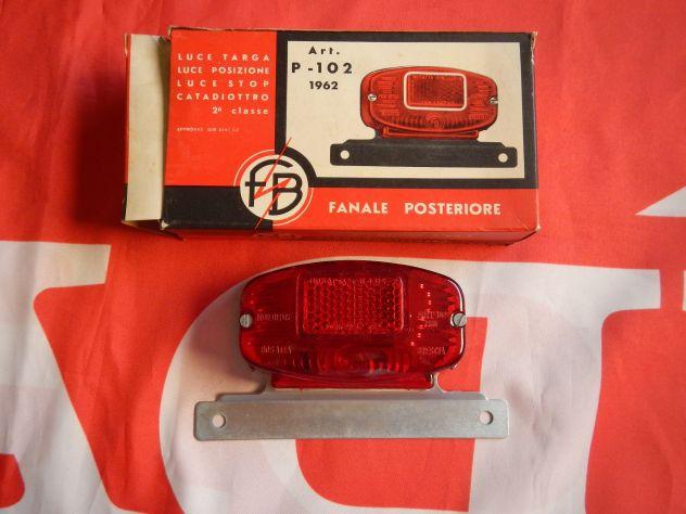 Fanale posteriore universale moto anni 60