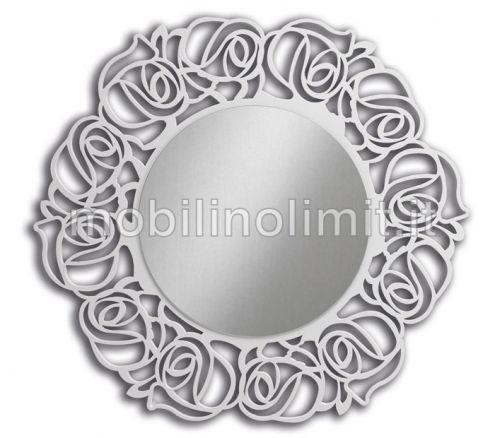 Specchiera rotonda bianca - Nuovo