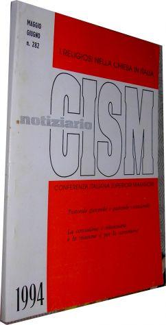 Notiziario Cism maggio giugno 282 1994 I Religiosi nella chiesa in Italia confer