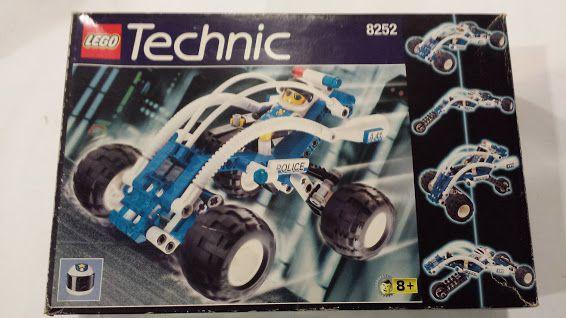 LEGO TECHNIC - 8252, POLICE BUGGY,