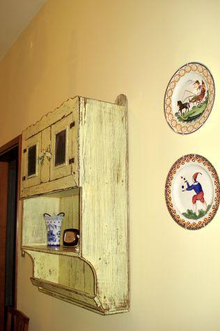 CREDENZA PROVENZALE ANTICA FINE 800in legno massello con laccatura originale