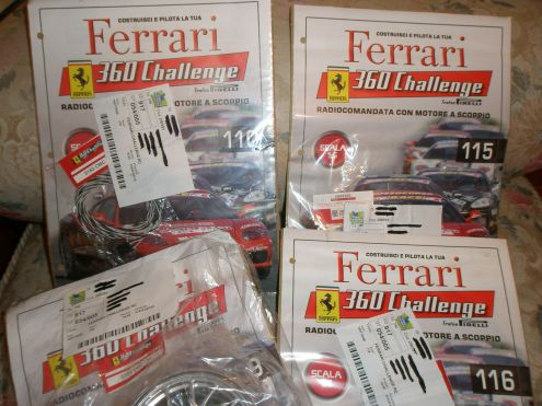 Ferrari challenge scala 1:5 motore a scoppio