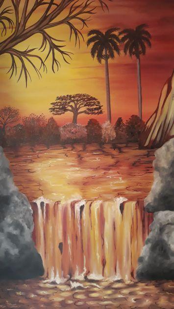 La cascata d'Africa