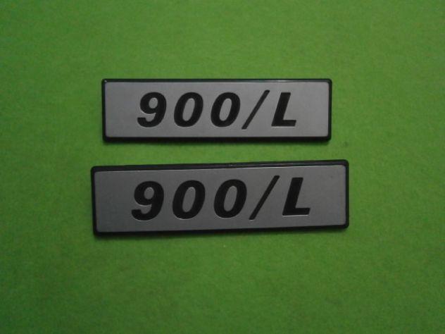 Scritte laterali Fiat 127 900L loghi targhette NUOVE - Foto 4