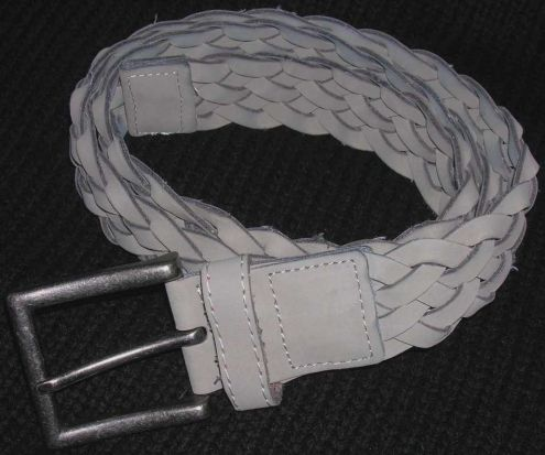 Cintura cinta uomo intrecciate fibbia acciaio anticato moda fashion Oviesse …