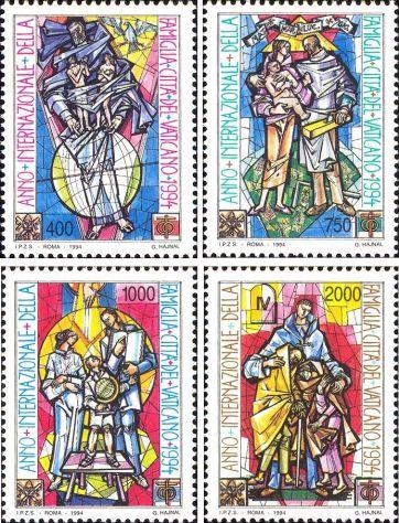 Francobolli nuovi annata 1994 Vaticano - Foto 8