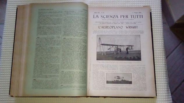 La Scienza per tutti del 1909