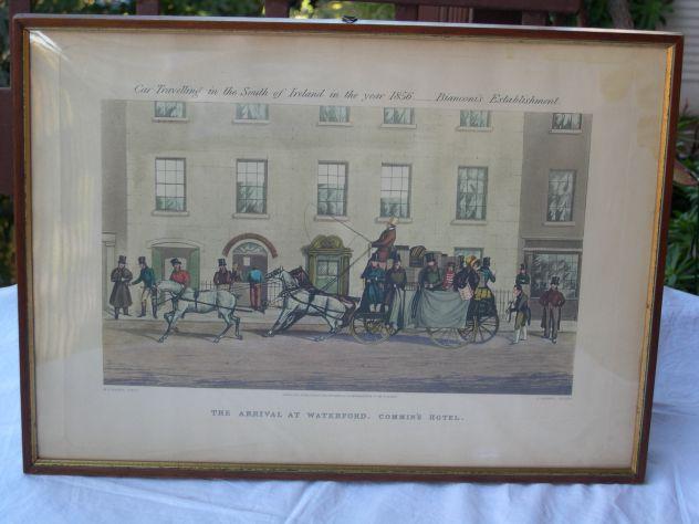 Quadro stampa di Mayes Harris Car travelling 1856