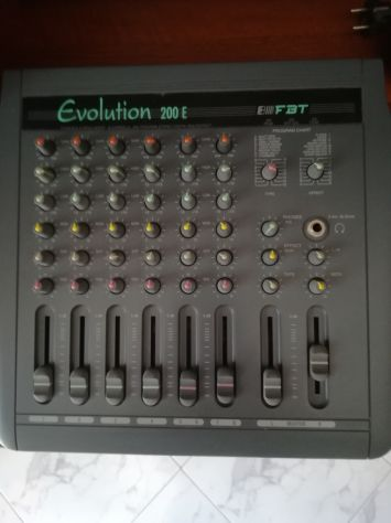 FBT mixer Evolution 200 E +casse