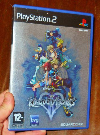 Kingdom Hearts 2 II gioco ps2 playstation square enix RPG GDR videogioco