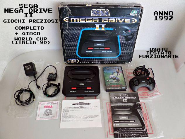 Sega Mega Drive 2 (Boxato) (Giochi preziosi) completo + gioco