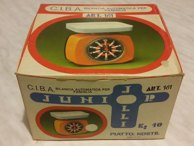 Bilancia Vintage Ciba Jolly Mod.Junior con scatola nuova - Foto 2