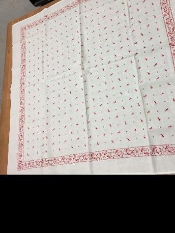 fazzoletto antico di oltre 100 anni.