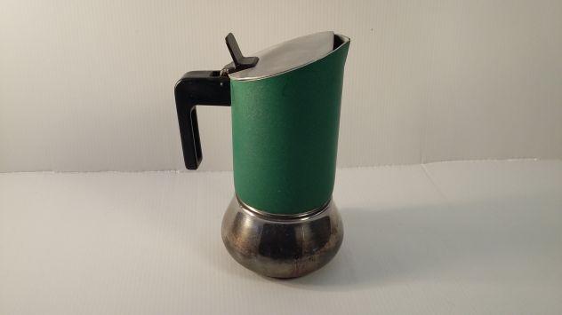 C133 caffettiera riuso 3tz inox verde