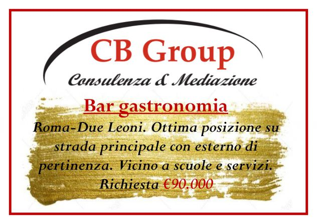 RIF. A136 BAR GASTRONOMIA DUE LEONI