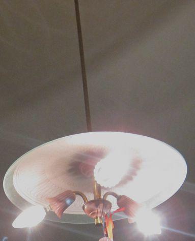 Regalo lampadario degli anni cinquanta