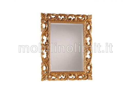 Specchiera in Foglia oro - Nuovo