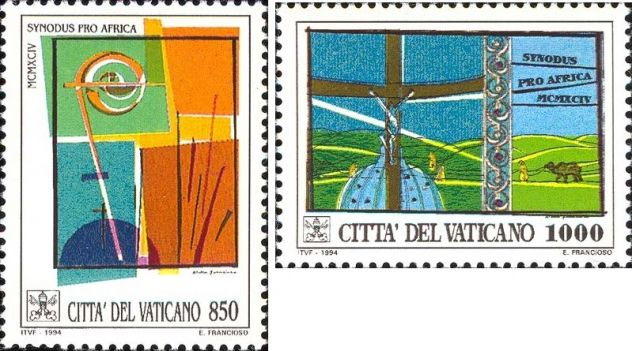 Francobolli nuovi annata 1994 Vaticano - Foto 4