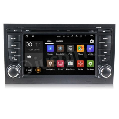 ANDROID 5.1 GPS 2 din autoradio navigatore Audi A4 S4 RS4 Seat Exeo