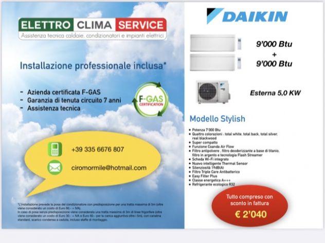 Offerta Installazione condizionatori Dual Daikin con SCONTO IN FATTURA