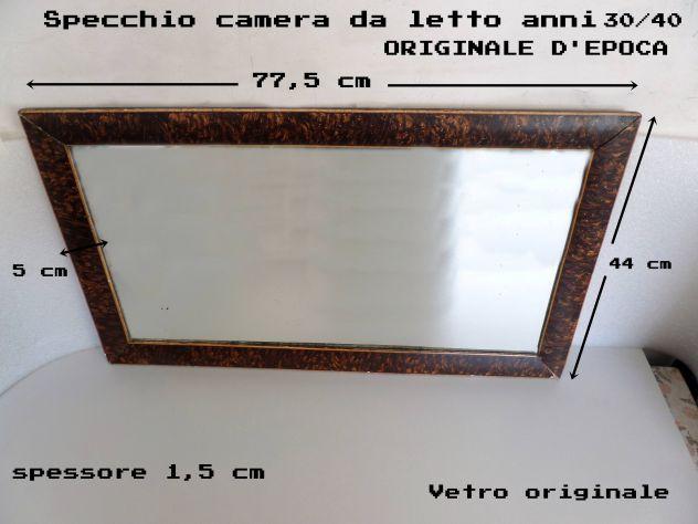 Specchio anni 30 /40 (camera da letto) antiquariato (originale)