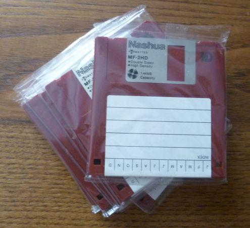 "Nashua Micro Floppy Disk 3.5"""