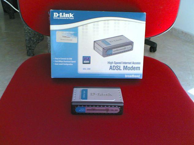 Modem Adsl D-Link DSL-200