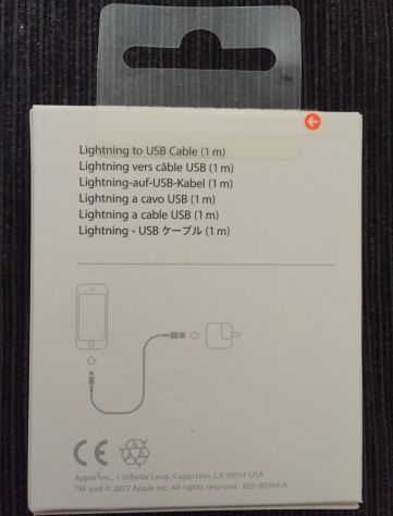 Cavo originale Apple Lightning - Foto 3