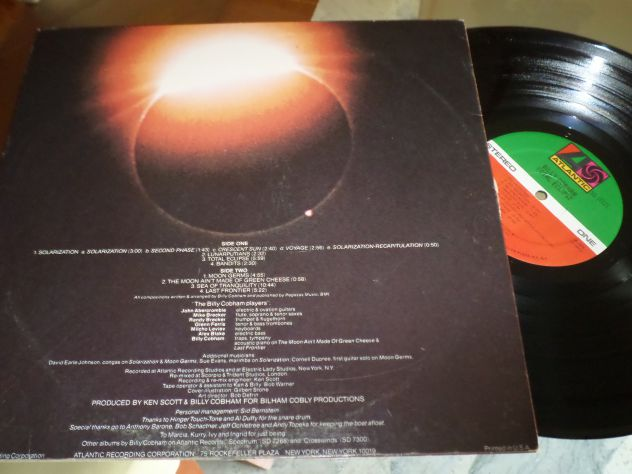 BILLY COBHAM - Total Eclipse - LP / 33 giri 1974 Atlantic - Foto 2
