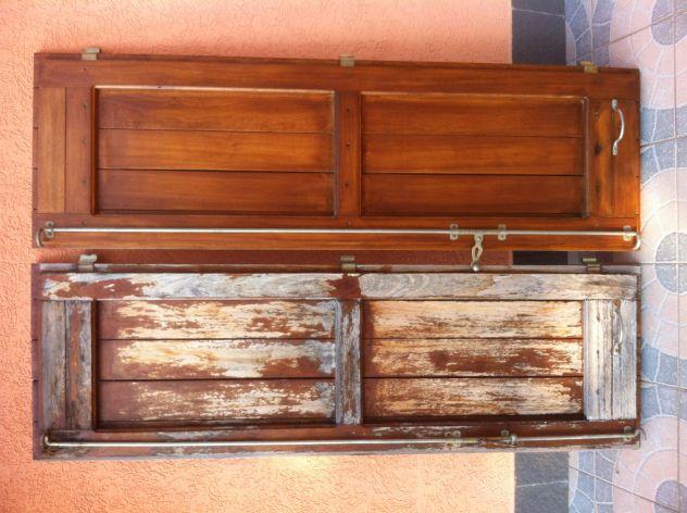 verniciatura restauro infissi finestre scuri legno ferro