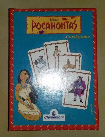 Gioco disney pochaontas clementoni card game gioco di carte