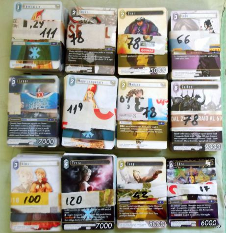 990 CARD FINAL FANTASY+ FPG+ THE SANJULIAN COLLECTION.