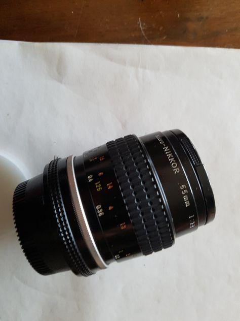 Obiettivo micro Nikkor 55 mm 1 : 2,8