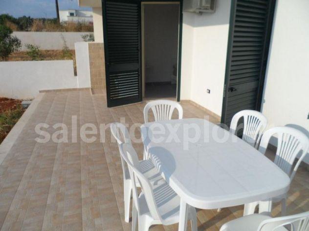 Villetta a 300 m sabbia in Salento,6 posti,box,clima,giardino - Foto 6