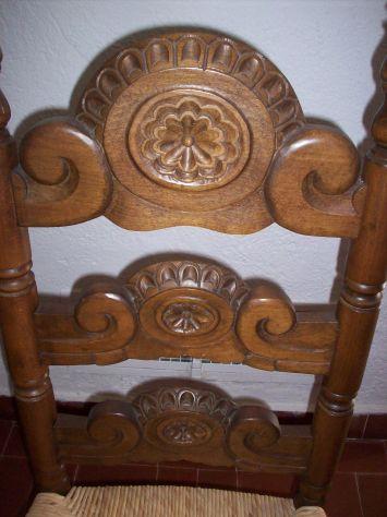 sedia poltrona spagnola