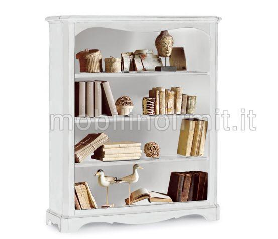 Libreria 4 Ripiani - Bianco Opaco - Nuovo