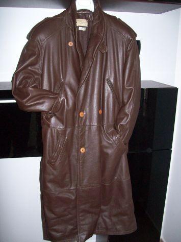 Cappotto vera pelle doppiopetto di Carieri Palermo
