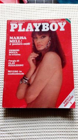 PlayBoy del 1976 Marisa Mell