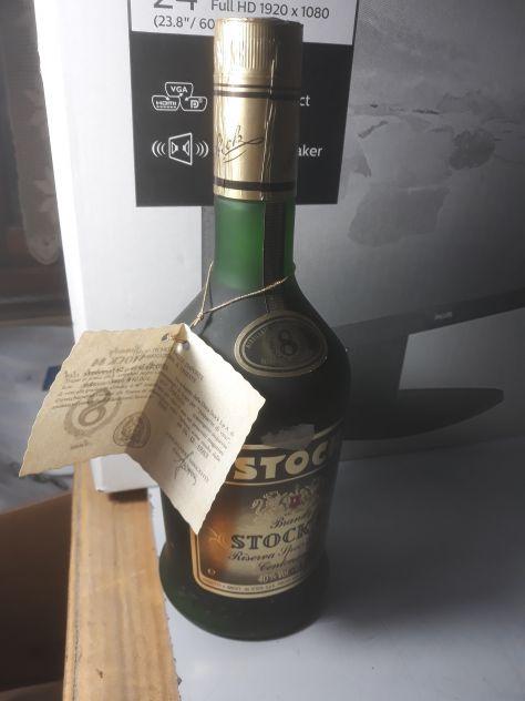 Brandy oro pilla, stock 84 e vecchia romagna