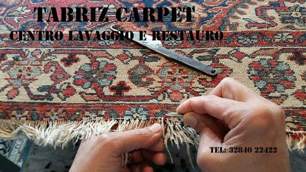 Pulizia e restauro tappeti Codroipo, centro lavaggio tappeti - Foto 9