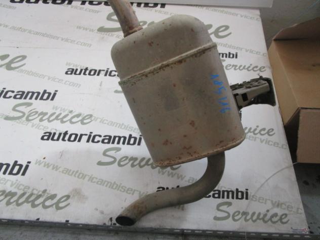 8200029598 MARMITTA TUBO DI SCARICO CON SILENZIATORE POSTERIORE RENAULT SCE … - Foto 2