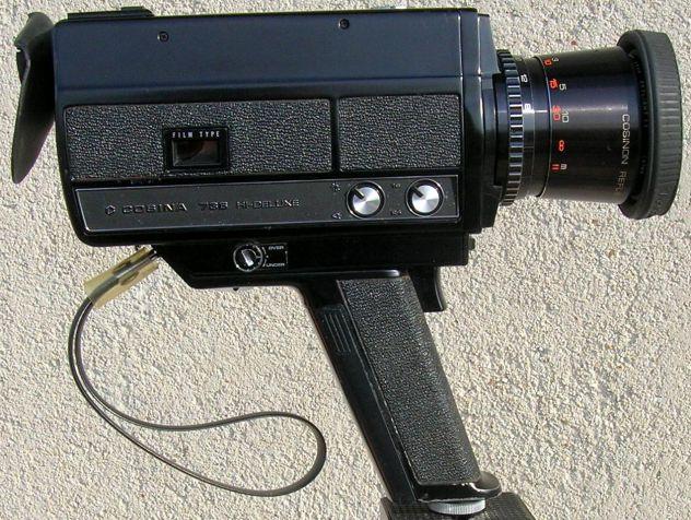Videocamera COSINA 736 HI-Delux  silent super 8 cartridge made in Japan - Foto 4