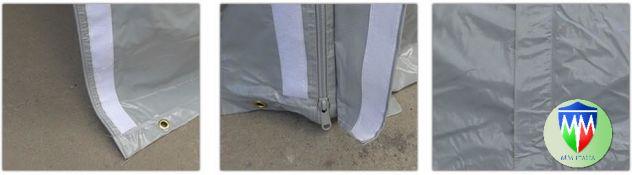 Tendoni  coperture per deposito magazzino 8 x 20 con velcro uso annuale - Foto 7
