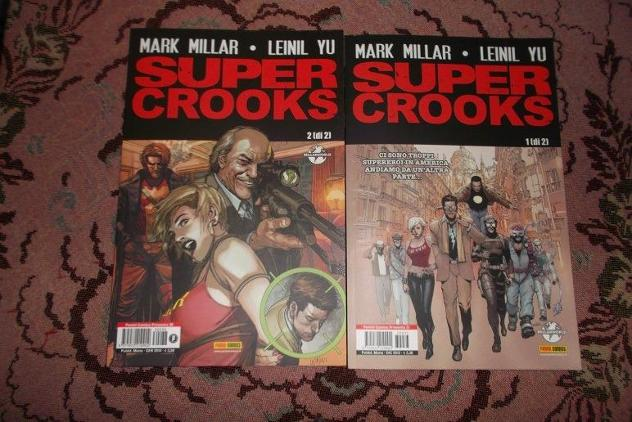 Super Crooks(millarworld,panini comics,2013)