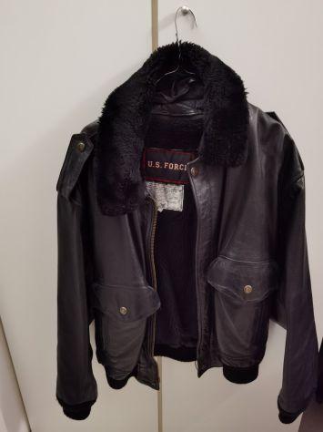 Giubbotto pelle/Model USA Authentic Flyers Fight Garment